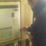 神奈川県箱根町 熱源機・給湯器取替工事 施工前