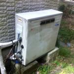 神奈川県逗子市 ガスふろ給湯器取替工事 施工前
