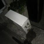 ガス風呂給湯器取替え工事(東京都大田区東雪谷) 施工開始直後