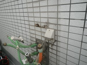 熱源器交換工事(川崎市中原区) 撤去後