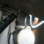ガスふろ給湯器交換工事(神奈川県厚木市中町)チェック中