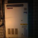 東京都中野区 ガス給湯器取替工事 施工前