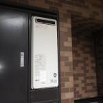 マンションPS設置給湯器取替工事(横浜市西区) 施工前