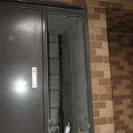マンションPS設置給湯器取替工事(横浜市西区) 撤去後