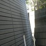 壁掛け給湯器交換工事(横浜市磯子区洋光台) 撤去後